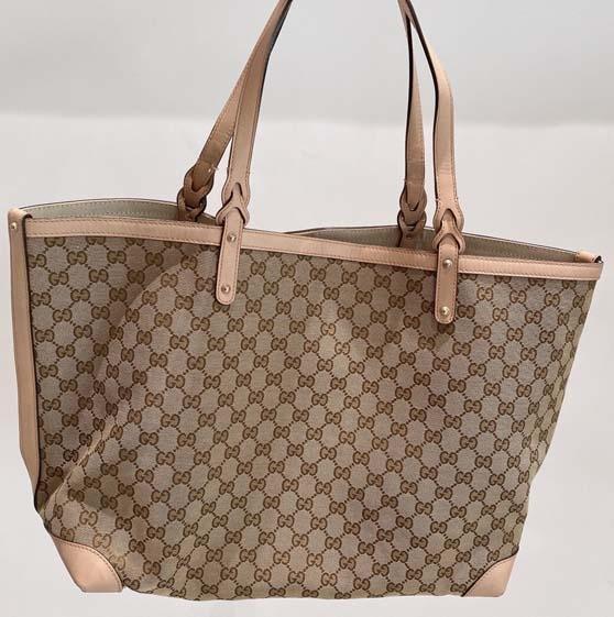 Gucci 满logo购物袋
