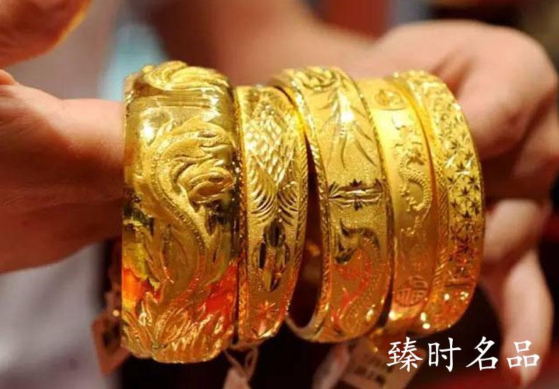 典当行除了黄金回收,也会出售黄金。
